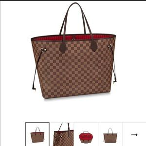 Louis Vuitton Neverfull GM Ebene Canvas